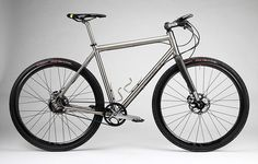 FF-217, titanium frame with Gates Belt drive / Firefly Bicycles
