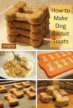 How to Make Homemade Peanut Dog Treats Biscuits Recipe