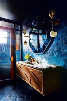House tour: an elegant home by designer Peter Mikic making pink walls cool - Vogue Living Inside A House, Famous Interior Designers, Vogue Living, Industrial House, Industrial Style, Pink Walls, Bathroom Inspiration, Interior Inspiration, Bathroom Ideas