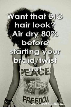 Natural Hair Tip