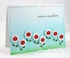 sending you sunshine by NikiE - Cards and Paper Crafts at Splitcoaststampers