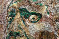 """It's Friday the 13th! Simon Raab """"Get a Grip"""" (detail) 2009 www.parleau.com #simonraab #parleau #art #friday13th Get A Grip, Friday The 13th, Detail, Wall, Painting, Painting Art, Paintings, Paint, Draw"""