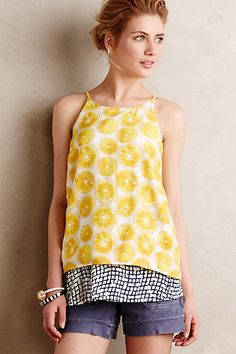 Layered Swing Tank #anthropologie