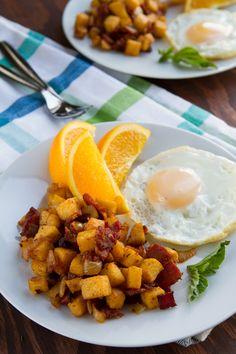 Potato-free Hash Browns Healthful Pursuit | Healthful Pursuit