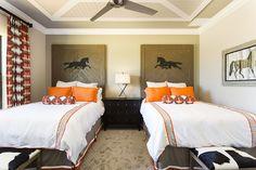 Family villas in Reunion Resort, Orlando.