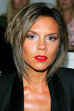 Victoria Beckhams Hair History From Pob To Polished - Beckham's hairstyle history