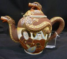 CHINESE DRAGONWARE TEA SET