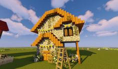 shorty, build for the build challenge! shorty, build for the build challenge! Minecraft Cottage, Minecraft Plans, Minecraft Funny, Amazing Minecraft, Minecraft Tutorial, Minecraft Blueprints, Minecraft Projects, Minecraft Crafts, Minecraft Stuff