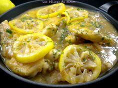 Aiguillettes de poulet au citron - Les Délices de Mimm