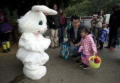 Easter events in the Bay Area include egg hunts, including some for dogs and many that are free; brunches; pancake breakfasts; and other Easter-themed activities for children.