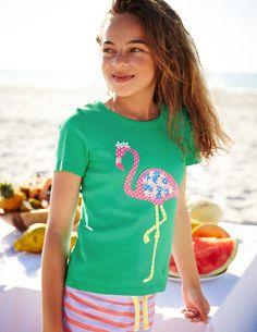 Ruffle Appliqué T-shirt