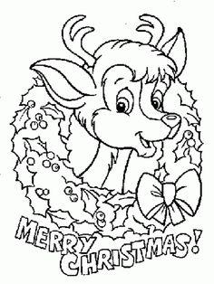 Dibujos para colorear de navidad con los niños
