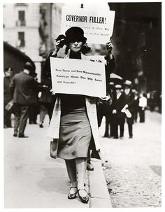 1920s Edna St. Vincent Millay Protests execution of Sacco and Vanzetti by vassarcollegearchives, via Flickr