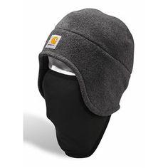 5516880b23e Carhartt Men s 2-in-1 Fleece Headwear Fleece Hats