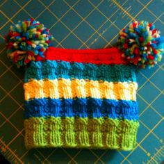 Gorgeous knitted hat!