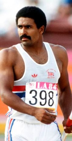 Daley Thompson Wat een lichaam. What he said. Best all round sportsman of his time.