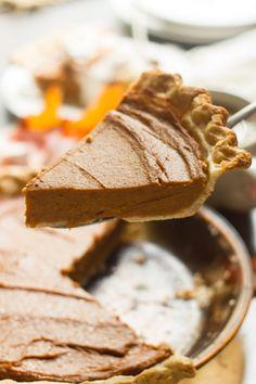 Chai-Spiced Vegan Sweet Potato Pie