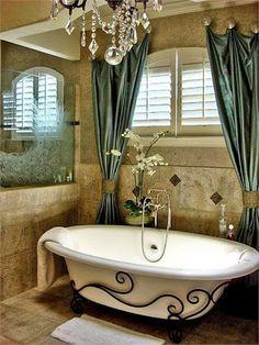 Une salle de bain comme j'aime ; vraiment classe !