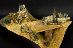 Diorama Afrika Korps - Tunez 1943