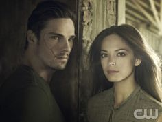 BEAUTY AND THE BEAST Pictured (L-R): Jay Ryan as Vincent and Kristin Kreuk as Catherine. Photo Credit: Frank Ockenfels 3/The CW. © 2012 The CW Network, LLC. All rights reserved.