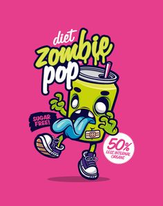 Zombie soda !! Yum !!