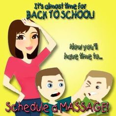 Find out what the buzz is about with our Back-to-School-MASSAGE-Special: JHLocals.com & in the Stepping Out section of Jackson Hole News http://jacksonhole.massagetherapy.com/special-offers