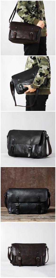 Retro Men Messenger Bag Vegetable Tanned Leather Shoulder Bag Crossbody Bag G6031 Canvas Leather, Leather Bag, Photography Bags, Retro Men, Messenger Bag Men, Vegetable Tanned Leather, Travel Bags, Leather Shoulder Bag, Crossbody Bag