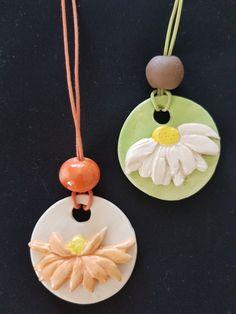 Ceramic pendants/ Özlem Menekay