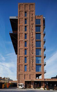 The Williamsburg Hotel by Michaelis Boyd, Brooklyn