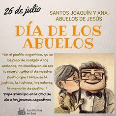 En este 26 de julio, día de los santos Joaquín y Ana, abuelos de Jesús, rezaremos en las misas por todos los abuelos, vivos y difuntos. Si queres dejanos el nombre de ellos! https://www.facebook.com/SanNicolasJoven/photos/a.437440742963862.93346.418443948196875/985777554796842/?type=1 https://www.facebook.com/george.castillo.33886