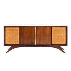 Credenza by Vladimir Kagan | From a unique collection of antique and modern credenzas at https://www.1stdibs.com/furniture/storage-case-pieces/credenzas/