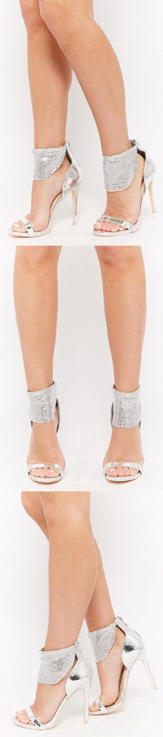 Metallic Chainmail-Cuff Sandals    38.00 USD    Forever 21 Forever 21 Shoes d2d78f66f