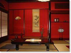 inside a Japanese tea house   金沢 にし茶屋街 西茶屋 2