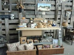 Fall display for our Barn Sale
