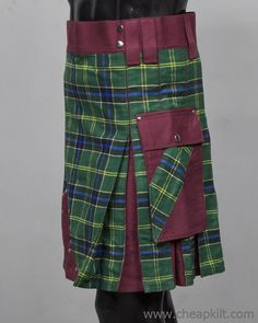 We bring you a well designed kilts for man hybrid kilt this accomplishes the overall looks. Made of fabric cotton and Scottish Tartan Fabric you are assured of quality and light in terms of weight. kilts for sale, kilts for men Scottish Man, Scottish Kilts, Scottish Tartans, Irish Tartan, Tartan Kilt, Spartan Man, Tactical Kilt, Cheap Kilts, Kilt Shop