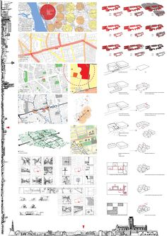 Site analysis / Site recording / Poster - By Frank