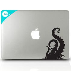 Octopus macbook decal from etsy, by Stikrz .... removable computer stickers