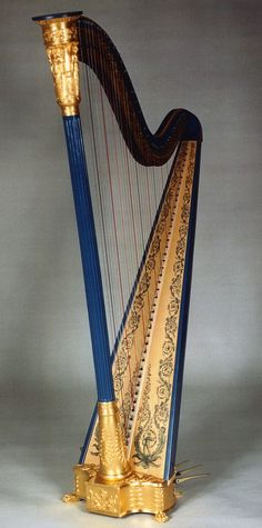 John Egan harp, Dublin, 1829 - H. Bryan & Co. » Gallery of Restored Harps