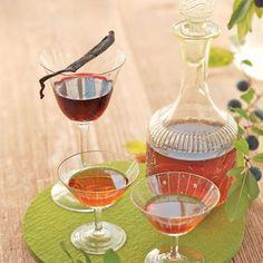 Heidelbeer-Vanille-Likör