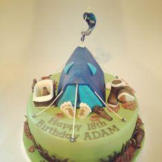Festival cake - dairy free chocolate cake and nut free