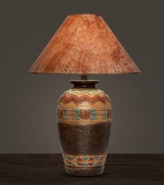 Elk with trees table lamp rustic living pinterest tree table the viga southwestern table lamps made in usa table lamps hawthorn table lamp aloadofball Choice Image