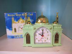 Mosque alarm clock,tämmlsen kun jostain saisi Create Space, Mosque, Alarm Clock, Homes, Ideas, Home Decor, Projection Alarm Clock, Houses, Decoration Home
