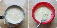 Jednoduchý jablkovo-pudingový koláč (fotorecept) - recept | Varecha.sk Icing, Desserts, Food, Tailgate Desserts, Dessert, Postres, Deserts, Meals