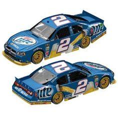 NASCAR Brad Keselowski #2 Miller Lite 1/64 Adult Hardtop Car 2012 $10