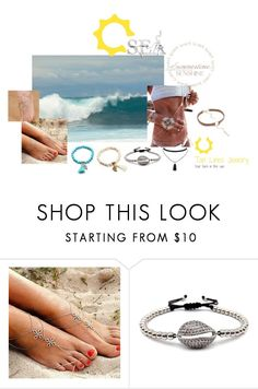 """Beach Candy"" by freida-adams ❤ liked on Polyvore"