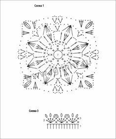 Нежный белый пуловер из цветочных мотивов. Крючок. Обсуждение на LiveInternet - Российский Сервис Онлайн-Дневников