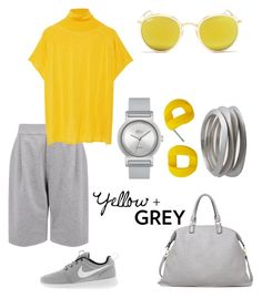 Y&G by schenonek on Polyvore featuring polyvore, fashion, style, Vionnet, Joseph, NIKE, Lacoste, Marc by Marc Jacobs and Ray-Ban