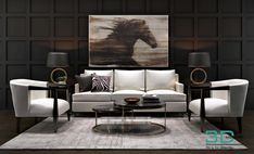 13. Decor Set 3d Architecture, Architecture Visualization, Living Furniture, Furniture Sets, 3d Living Room, 3d Models, Architectural Elements, 3d Design, Interior Design