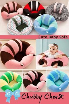 Baby Plush Cuddle Sitting Chair Baby Couch Cute Baby Gifts