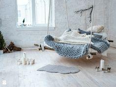 Nowoczesny obraz na płótnie - zdjęcie od VAKU-DSGN hammock | inspiration | bed | bedroom | bohemian | boho style | inspiration